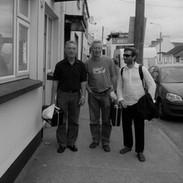 Johnny Connolly, Mick O'Brien and Caoimhín Ó Raghallaigh.