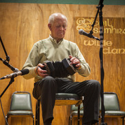 Chris Droney playing in the 2014 concertina recital.