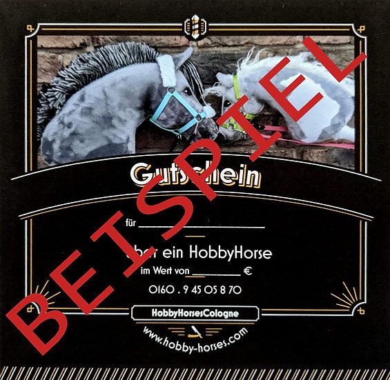 Gutschein für ein Hobby Horse KW3