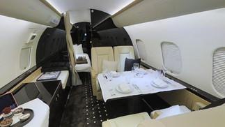 Galerie visite virtuelle 3D - jet privé