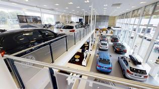 Galerie visite virtuelle 3D - voiture