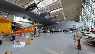 Galerie visite virtuelle 3D - musée aviation