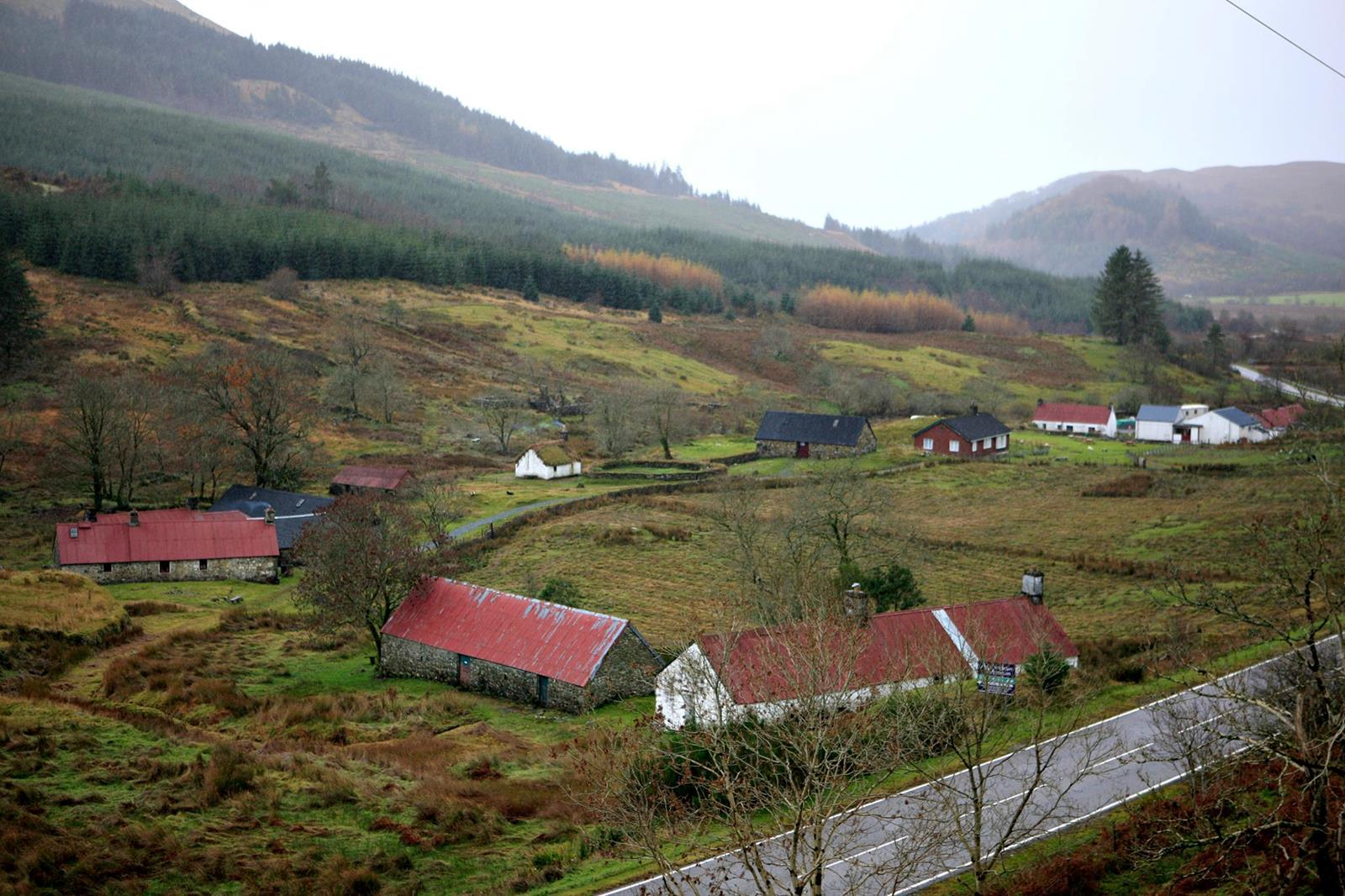 Auchindrain Township Open Air Museum