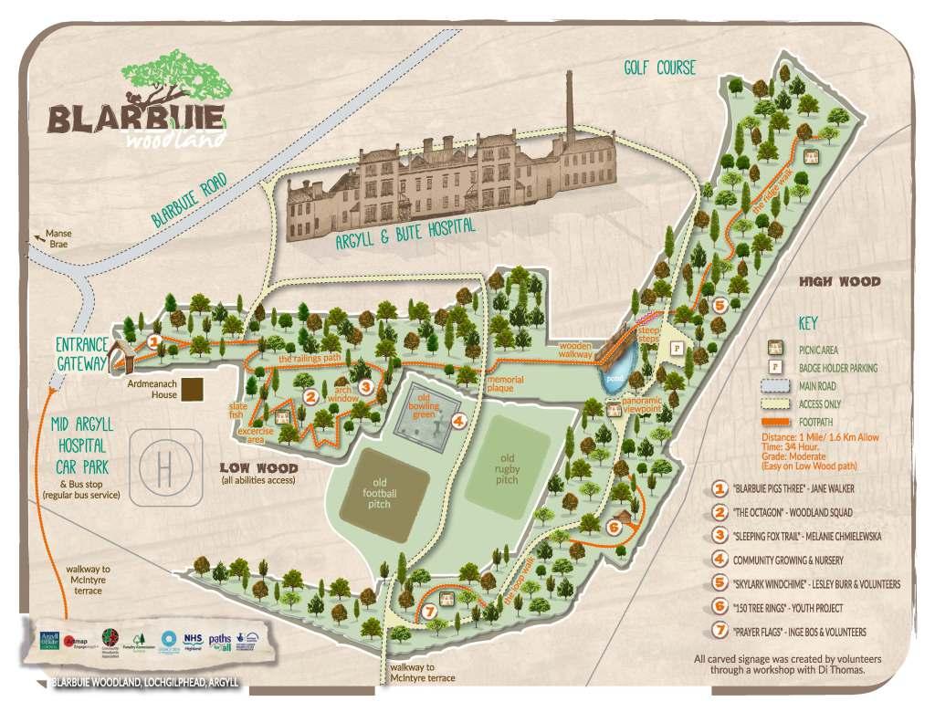 Blarbuie-map