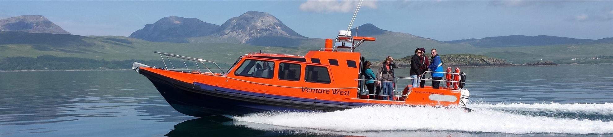 Boat Trips - Venture West