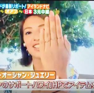 BS12 トゥエルビ「ハワイに恋して!」の番組内でHPが紹介されます