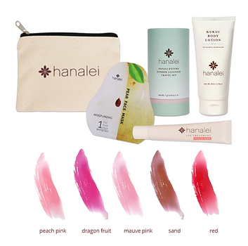 ハナレイカンパニー・サーシャトラベルセットがアップデート New Style: Hanalei Company's Sasha Travel Set