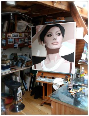 Loren on Canvas