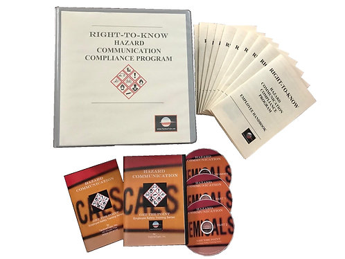 Complete Hazard Communication Guide and Training Set 2018