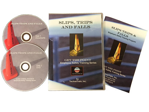 GET THE POINT Slips Trips and Falls Employee Safety Training Program