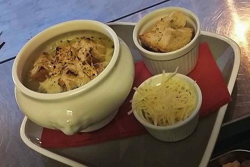 Soupe d' oignon