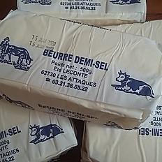 Beurre fermier demi-sel 500g
