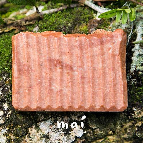 Sabonete Natural Argila Vermelha e May Chang