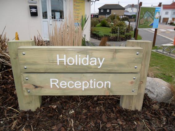 Treated Timber Signage
