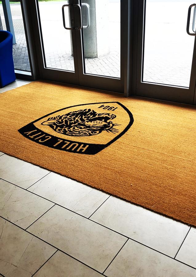 Large Printed Coir Entrance Mat
