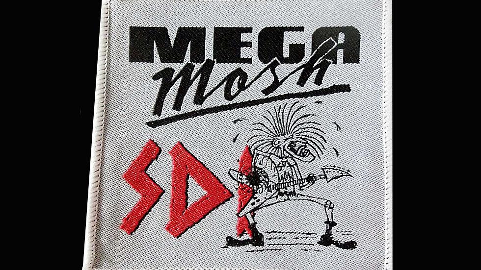 Megamosh Patch white