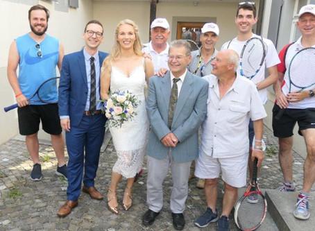 Hochzeit Fabienne und Dani, wir gratulieren