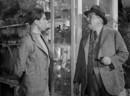 Marius Goring as Charles Barrington and Norman Pierce as Mr Keats