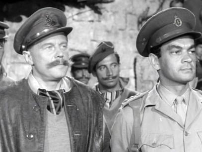 Marius Goring as the German Major and Alan Tilvern as the German Captain