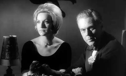 Sabine Sesselmann as Anne Ryder and Marius Goring as Oliver Milburgh (German version)