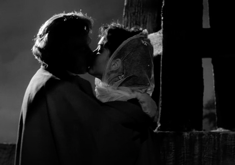 The Hostage: Marius Goring as Sir Percy Blakeney & Yvonne Furneaux as Suzanne de Fleury