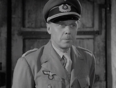 Marius Goring as the German Major
