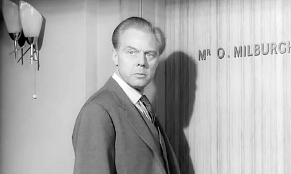 Marius Goring as Oliver Milburgh in Das Geheimnis der gelben Narzissen (The Devil's Daffodil) 1961