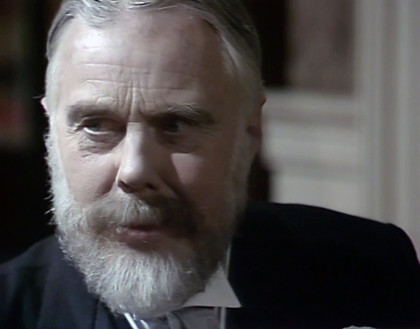 Marius Goring as King George V in Edward and Mrs Simpson 1979