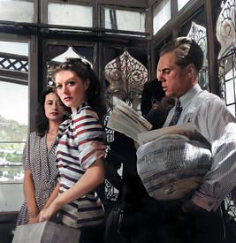 Moira Shearer as Victoria Page and Marius Goring as Julian Craster