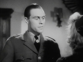 Marius Goring as Fritz Gerte and Nova Pilbeam as Christine Hall in Pastor Hall