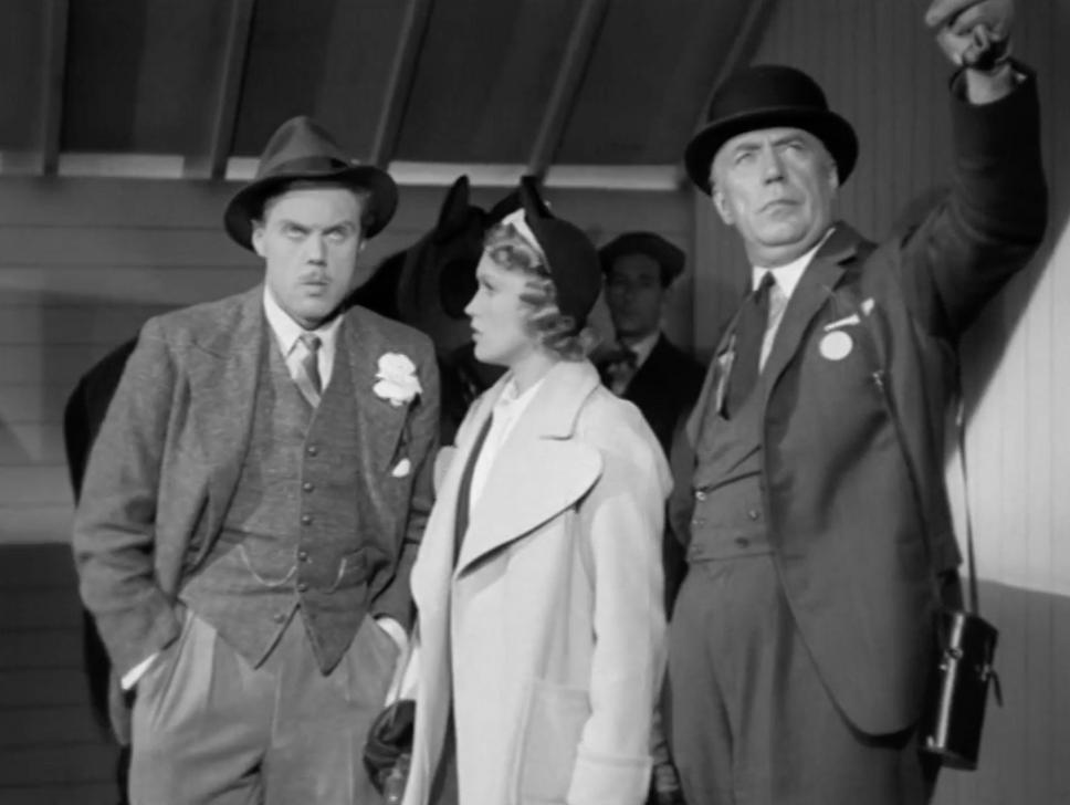 Marius Goring as Charles Barrington, Nancy Burne as Stella Barrington and Peter Gawthorne as Jonas Urquhart