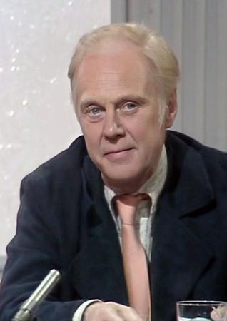 Marius Goring on Whodunnit? as a panelist in Season 1 Episode 5 'Dead Likeness'. Broadcast 23 July 1973