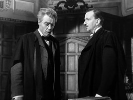 Marius Goring as Vincent Perrin and Raymond Huntley as Moy-Thompson