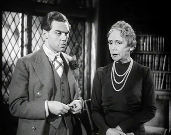 Marius Goring as Lord Lebanon and Helen Haye as Lady Lebanon