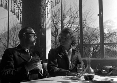 Marius Goring as Colonel Henri & Anna Neagle as Odette in Odette 1950