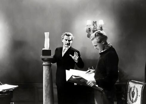 Anton Walbrook as Boris Lermontov and Marius Goring as Julian Craster in The Red Shoes 1948