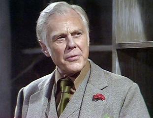 Marius Goring as Rex in Wilde Alliance 1978