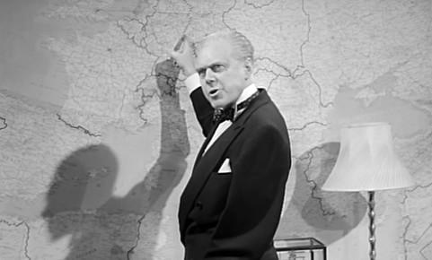 Marius Goring as General Greenhahn in The Devil's Agent 1962