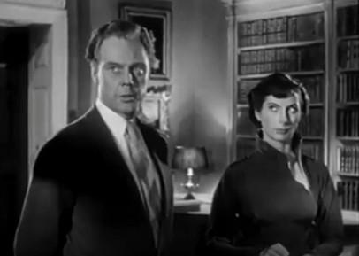 Marius Goring as Hiar and Patricia Laffen as Magda Hassingham