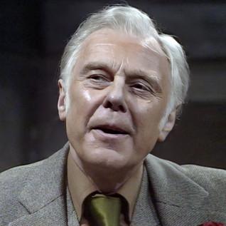Marius Goring as Rex in Wilde Alliance Season 1 Episode 4  'Things That Go Bump'. Director: Marc Miller. Writer: Philip Broadley. Broadcast 7 February 1978