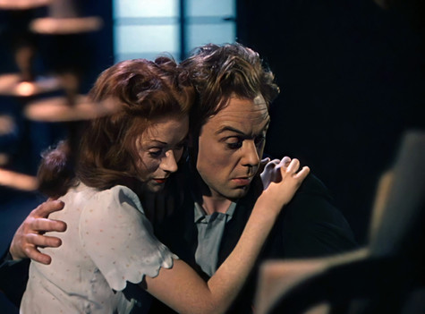 Moira Shearer as Victoria Page and Marius Goring as Julian Craster in The Red Shoes 1948