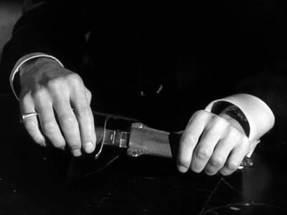 Marius Goring as Vincent Perrin. Marius had such beautiful hands.