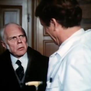 Marius Goring as Heinrich Palitz and Fritz Weaver as Josef Weiss