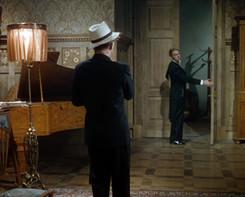 Anton Walbrook as Boris Lermontov and Marius Goring as Julian Craster