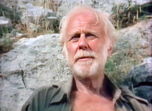Marius Goring as Dr Pieter Gerrard in Levkas Man 1981