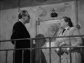 Marius Goring as Colonel Henri in Odette 1950