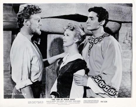 Marius Goring as Chester, June Laverick as Deering and David Hedison as Jamie