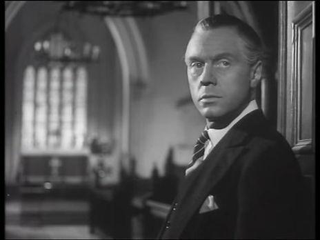 Marius Goring as Sidney Fleming in Take My Life 1947