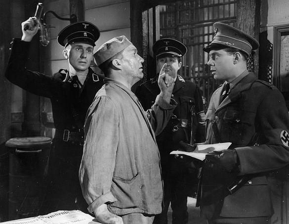 Bernard Miles, Wilfrid Lawson, Manning Whiley and Marius Goring