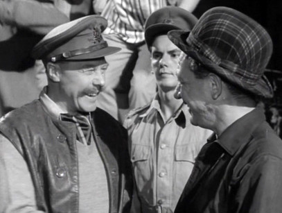 Marius Goring, Kenneth Fortescue and Sid James